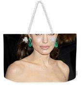 Angelina Jolie Weekender Tote Bag by Nina Prommer