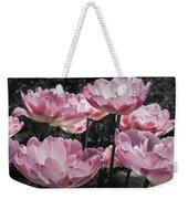 Angelique Peony Tulips Weekender Tote Bag