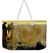 Angels And Brothers Weekender Tote Bag