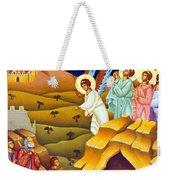 Angels And Shepherds Weekender Tote Bag