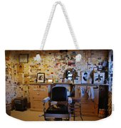 Angel's Barber Shop On Route 66 Weekender Tote Bag