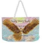 Angels Cry Holy Weekender Tote Bag