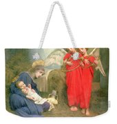 Angels Entertaining The Holy Child Weekender Tote Bag by Marianne Stokes