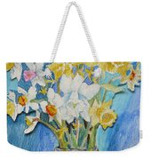 Angels Flowers Weekender Tote Bag