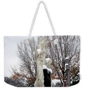 Angels In The Winter Weekender Tote Bag