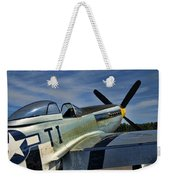 Angels Playmate P-51 Weekender Tote Bag