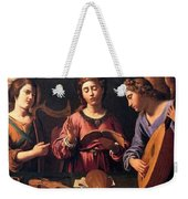 Angels Singing Weekender Tote Bag