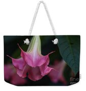 Angel's Trumpet Weekender Tote Bag