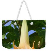 Angels Trumpet Weekender Tote Bag
