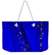 Angels Wings Blue Weekender Tote Bag
