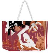Angie Dickinson Robert Mitchum Young Billy Young Old Tucson #2 Photographer Unknown 1969-2013 Weekender Tote Bag