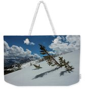 Angles Of The Mountain Weekender Tote Bag