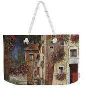 Angolo Buio Weekender Tote Bag by Guido Borelli