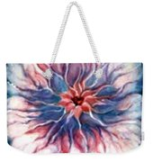 Angora Bloom Weekender Tote Bag