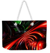 Angry Clown Abstract Weekender Tote Bag
