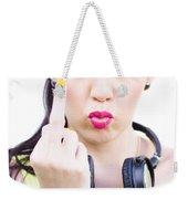 Angry Music Weekender Tote Bag