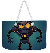 Angry Robot Weekender Tote Bag by John Schwegel