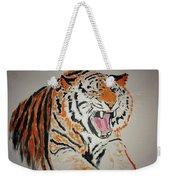 Angry Tiger Weekender Tote Bag