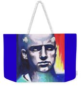 Angry Young Man Weekender Tote Bag