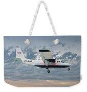 Anguilla Air Services Britten-norman Bn-2a-26 Islander 113 Weekender Tote Bag