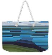 Angular Lake Weekender Tote Bag