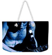 Angus Rocks The Blues Weekender Tote Bag
