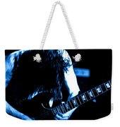 Angus Young On Guitar Weekender Tote Bag