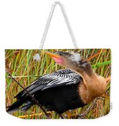 Anhinga The Swimming Bird Weekender Tote Bag