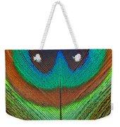 Animal - Bird - Peacock Feather Weekender Tote Bag