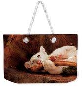 Animal - Cat - My Chew Toy Weekender Tote Bag