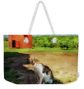 Animal - Cat - The Mouser Weekender Tote Bag