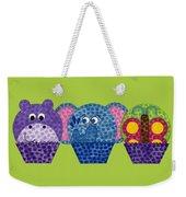 Animal Cupcakes 2 Weekender Tote Bag