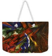 Animal Destinies The Trees Show Their Rings The Animals Their Veins Weekender Tote Bag