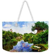 Animal Kingdom Tranquility Weekender Tote Bag