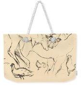 Animal Studies (verschiedene Tierstudien) Weekender Tote Bag