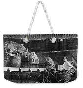 Animal Tamer, 1930s Weekender Tote Bag