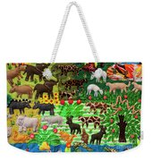 Animal Tapestry Weekender Tote Bag