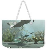 Animals And Floral Life Weekender Tote Bag