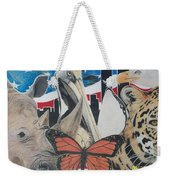 Animals Of Freedom  Weekender Tote Bag