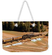 Animas River Crossing Weekender Tote Bag