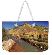 Animas River In Silverton Weekender Tote Bag