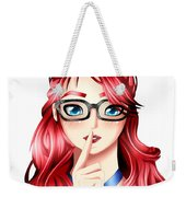 Anime Girl Weekender Tote Bag