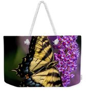 Anise Swallowtail Weekender Tote Bag