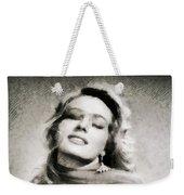 Anita Ekberg, Hollywood Legend By John Springfield Weekender Tote Bag