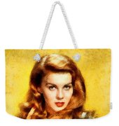 Ann-margert, Vintage Hollywood Actress Weekender Tote Bag