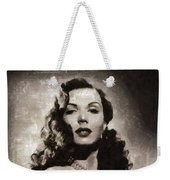 Ann Miller, Vintage Actress Weekender Tote Bag
