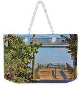 Anna Maria City Pier Landmark Weekender Tote Bag