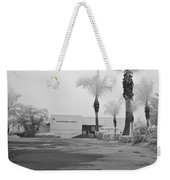 Anna Maria Island Branch Library In Fog Infrared 50 Weekender Tote Bag
