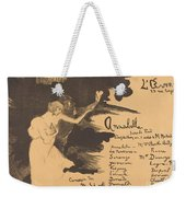 Annabella ('tis Pity She's A Whore) Weekender Tote Bag