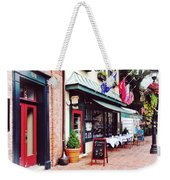 Annapolis Md - Restaurant On State Circle Weekender Tote Bag